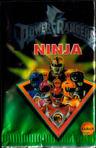 World Flip Federation > Power Rangers Ninja album, checklist etc. Packet-front.