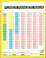 World Flip Federation > Power Rangers Ninja album, checklist etc. Power-Ranger-Ninja-checklist.