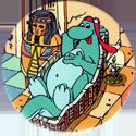 Yazoo Yammies > A. Egypt 17-Dino-chillaxing-in-sarcophagus.