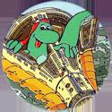 Yazoo Yammies > C. Space 15-Dino-emerging-from-landing-capsule-in-the-sea.