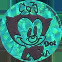 World POG Federation (WPF) > Animaniacs Kinis Dot-Green.