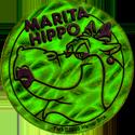 World POG Federation (WPF) > Animaniacs Kinis Marita-Hippo-Bright-Green.