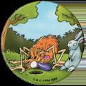 World POG Federation (WPF) > Avimage > Babybel 2 Pogman Écolo 1-Pogman-peering-down-hole-next-to-rabbit.