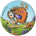 World POG Federation (WPF) > Avimage > Babybel 2 Pogman Écolo 4-Pogman-inspecting-flowers.