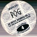 World POG Federation (WPF) > Avimage > Le Petit Dinosaure 3 Back.