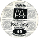 World POG Federation (WPF) > Avimage > McDonalds Pocahontas Back.