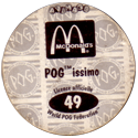 World POG Federation (WPF) > Avimage > McDonalds Back.