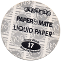 World POG Federation (WPF) > Avimage > Paper Mate Back.