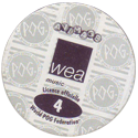 World POG Federation (WPF) > Avimage > WEA Music (POG CD) Back.