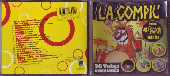 World POG Federation (WPF) > Avimage > WEA Music (POG CD) - CD case CD-case.