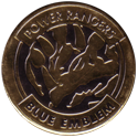 World POG Federation (WPF) > Avimage > Power Rangers 57-Blue-Emblem-(Gold).