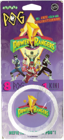 World POG Federation (WPF) > Avimage > Power Rangers Packet-front.
