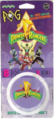 World POG Federation (WPF) > Avimage > Power Rangers Packet-front.