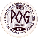 World POG Federation (WPF) > Avimage > Série No 1 Back.