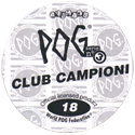 World POG Federation (WPF) > Avimage > Serie No 3 - Club Campioni Back.