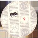 World POG Federation (WPF) > BonBon Buddies > Medium Easter Egg Back.