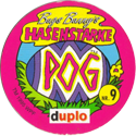 World POG Federation (WPF) > Bugs Bunny´s Hasenstarke POG Back.
