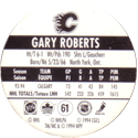 World POG Federation (WPF) > Canada Games > NHL 93-94 061-Calgary-Flames-Gary-Roberts-(back).