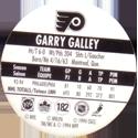 World POG Federation (WPF) > Canada Games > NHL 93-94 182-Philadelphia-Flyers-Garry-Galley-(back).