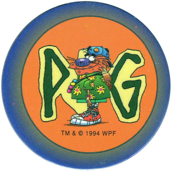 Avimage 1995 The World Pog Federation Série 1 N°70 POG