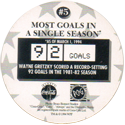 World POG Federation (WPF) > Coca Cola - Wayne Gretzky, The Great One 05-Most-Goals-in-a-Single-Season-(back).