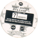World POG Federation (WPF) > Coca Cola - Wayne Gretzky, The Great One 08-Most-Assists-in-a-Game-(back).