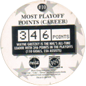 World POG Federation (WPF) > Coca Cola - Wayne Gretzky, The Great One 10-Most-Playoff-Points-(Career)-(back).