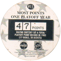 World POG Federation (WPF) > Coca Cola - Wayne Gretzky, The Great One 11-Most-Points-one-Playoff-Year-(back).
