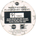 World POG Federation (WPF) > Coca Cola - Wayne Gretzky, The Great One 14-Most-Valuable-Player-(Hart-Trophy)-(back).