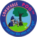 World POG Federation (WPF) > Dr. Martens Constable POG 06-Constable-Pog-says-'Lock-your-bike-when-out-of-sight.'.