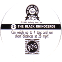 World POG Federation (WPF) > Holiday Inn Wild Collection 02-The-Black-Rhinoceros-(back).