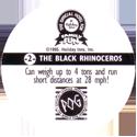 World POG Federation (WPF) > Holiday Inn Wild Collection 02-The-Black-Rhinoceros-(back).