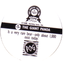 World POG Federation (WPF) > Holiday Inn Wild Collection 05-The-Giant-Panda-(back).