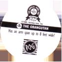 World POG Federation (WPF) > Holiday Inn Wild Collection 08-The-Orangutan-(back).