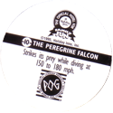 World POG Federation (WPF) > Holiday Inn Wild Collection 10-The-Peregrine-Falcon-(back).
