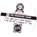 World POG Federation (WPF) > Holiday Inn Wild Collection 12-The-Whooping-Crane-(back).