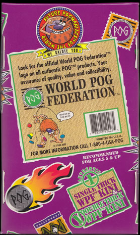 World POG Federation (WPF) > Kinis box & packet Box-rear.