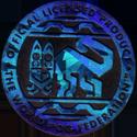 World POG Federation (WPF) > Kinis (Waddingtons) 11-blue-holo.