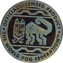 World POG Federation (WPF) > Kinis (Waddingtons) 11-silver-green-gold.