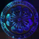 World POG Federation (WPF) > Kinis (Waddingtons) 12-blue-holo-158.