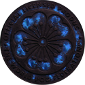 World POG Federation (WPF) > Kinis (Waddingtons) 12-blue-holo.