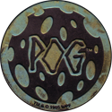 World POG Federation (WPF) > Kinis (Waddingtons) 14-silver-green-yellow.