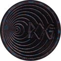World POG Federation (WPF) > Kinis (Waddingtons) 19-silver-blue-stars.