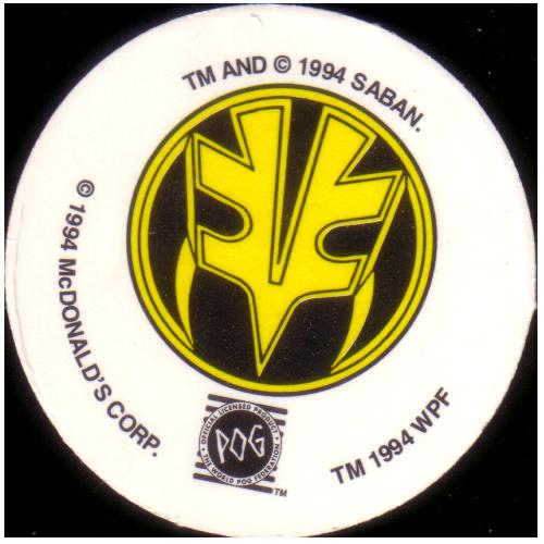 World POG Federation (WPF) > McDonalds Power Rangers & VR Troopers