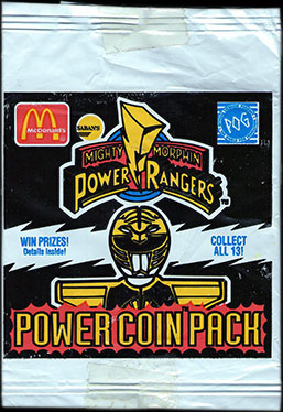 World POG Federation (WPF) > McDonalds Power Rangers & VR Troopers Front.