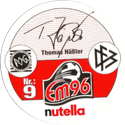 World POG Federation (WPF) > Nutella EM96 09-Thomas-Häßler-(back).