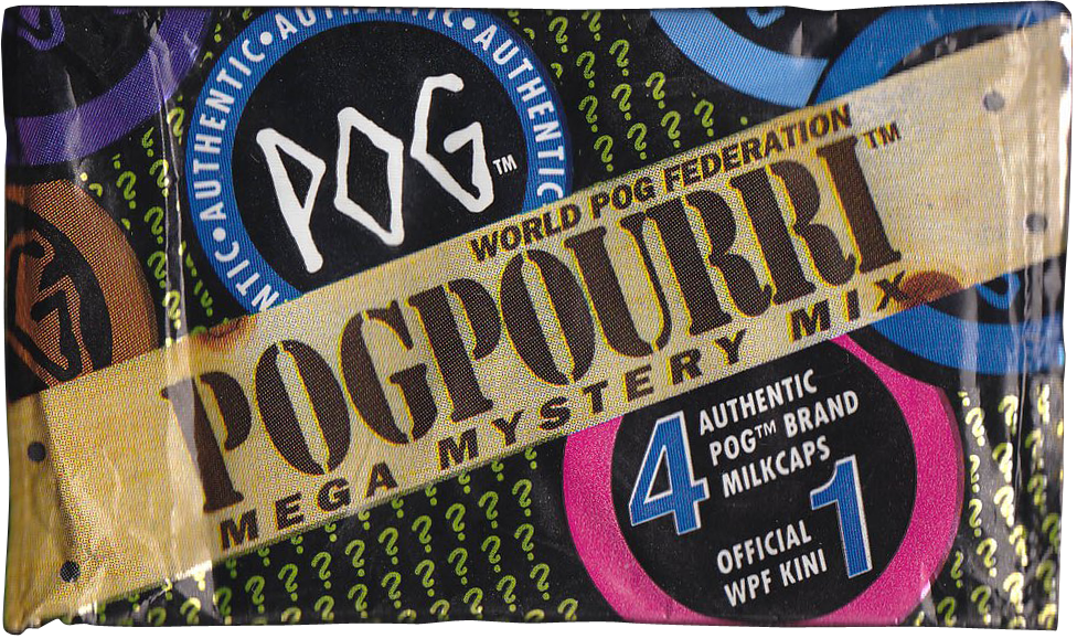 World POG Federation (WPF) > Pog Pourri Series 1 Packet