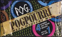 World POG Federation (WPF) > Pog Pourri Series 1 Packet & Checklist Front.