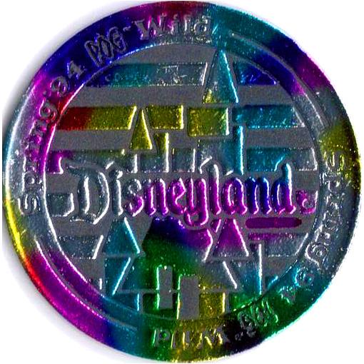 World Pog Federation Wpf Gt Pog Wild Disneyland 1994