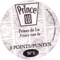World POG Federation (WPF) > Prince Lu Back.